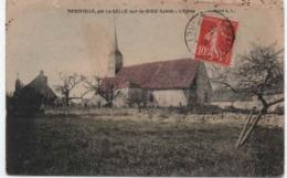 45-547 -  MERINVILLE , Par La Selle Sur Le Bied  -  Vue Génèrale Sur L'Eglise - France