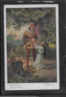AK 0356  Brüder Grimm  - Schneewittchen / Künstlerkarte V. O. Kubel Ca. Um 1920 - Fairy Tales, Popular Stories & Legends