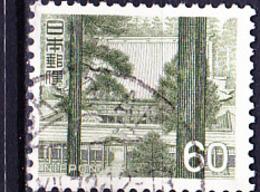 Japan - Kompon-Chudo-Halle Des Enryaku-Tempels Am Hiei-san, Shiga (MiNr: 938) 1966 - Gest Used Obl - 1926-89 Emperor Hirohito (Showa Era)