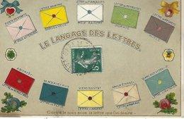 Le Langage Des Lettres-decor En Relief - Autres
