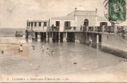 La Marsa 1908 - Etablissement De Bains De Mer - LL 3 - Plage - Tunisia