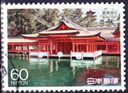 Japan - Itsukushima-Schrein, Hiroshima (MiNr: 1790) 1988 - Gest Used Obl - 1926-89 Emperor Hirohito (Showa Era)
