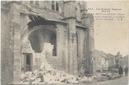 55 Lacroix Sur Meuse L'eglise Bombardee Et Incendiee Par Les Allemands - Altri Comuni