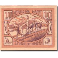 Billet, Autriche, Offenhausen, 10 Heller, Agriculteur, 1921 TTB Mehl:FS 705a - Austria