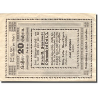 Billet, Autriche, Osternach, 20 Heller, Soldat 1920-11-30, TTB, Mehl:FS 714 - Austria