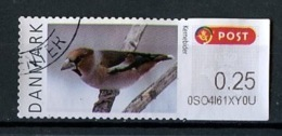 Danemark - Dänemark - Denmark Distributeur 2012 Y&T N°D(10) - Michel N°0,25kr ATM 64 O - 0,25kr Gros Bec - Affrancature Meccaniche Rosse (EMA)