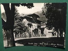 Cartolina Varallo Sesia - Corso Roma E Albergo Moderno - 1953 - Vercelli