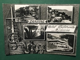 Cartolina Camping - Hotel Ristorante Mimosa - 1962 - Imperia