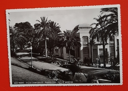 Cartolina San Remo - Villa Comunale - Padiglione Delle Mostre - 1942 - Imperia