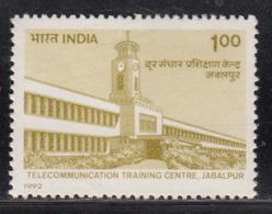 India MNH 1992, Telecommunication Training Centre, Telecom, Tower Clock, - India