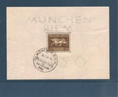 ALLEMAGNE 1936 N° Y/T : BLOC N° 6 OBLITÉRÉ - Blocks & Kleinbögen