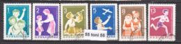 1965 CHILDREN'S ORGANIZATION -SEPTEMVRIJCHE  Mi 1577/82  6v.-used(O) Bulgaria/Bulgarie - Infancia & Juventud