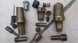 Lot De Fusées Obus 75 Neutra. - Decorative Weapons