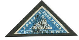 "4d ""WOOD BLOCK"" (sg 14d) Blue Touched At Base. Very Nice Color. Signed SCHELLER. Vvf. - África Del Sur (...-1961)"