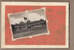 CPSM 2 VOLETS VIET NAM - SAIGON - TB CP Carte De Voeux Montrant Un Palais En Couverture Kiosque Poste Edition - Viêt-Nam
