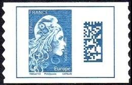 France Autoadhésif N° 1603,** Marianne L'Engagée - Datamatrix Europe PRO - Francia