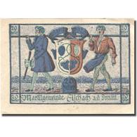 Billet, Autriche, Aschach A/d Donau, 20Heller, Blason 1 Bleu SPL Mehl:FS 53IIb01 - Austria
