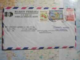Lettre De Port Au Prince 17/08/1970 - Hawaï