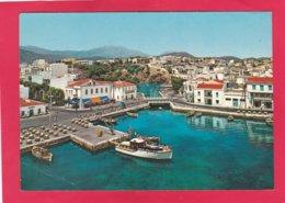 Modern Post Card Of Agios Nikolaos,Crete,Greece,X36. - Greece