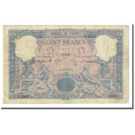 France, 100 Francs, Bleu Et Rose, 1898-06-21, TB+, Fayette:21.11, KM:65b - 1871-1952 Anciens Francs Circulés Au XXème