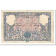 France, 100 Francs, Bleu Et Rose, 1898-05-16, TTB, Fayette:21.11, KM:65b - 1871-1952 Anciens Francs Circulés Au XXème