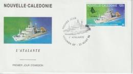 Nouvelle Calédonie 1994 FDC Bateau PA 321 - FDC