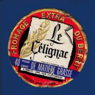 10 - Etiquette LE CELIGNAC - Fromage  -  Les Aix D'Angillon Berry (S1) - Fromage