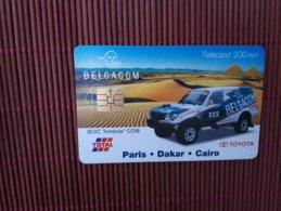 Phonecard Paris-Dakar Used - Belgique