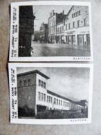 Old Matchbox Label 2 Labels Lithuania Klaipeda - Matchbox Labels