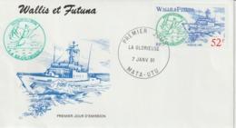 Wallis FDC 1991 Bateaux 405 - FDC
