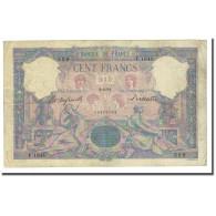 France, 100 Francs, Bleu Et Rose, 1894-06-02, TB, Fayette:21.7, KM:65b - 1871-1952 Anciens Francs Circulés Au XXème