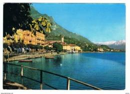 LOVERE:   PANORAMA  -  SANTUARIO  DELLE  S. BARTOLOMEA  E  VINCENZA  -  PER  LA  SVIZZERA  -  FG - Bergamo