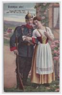 "AK Militaria (003031) WK I Feldpostkarte Gelaufen 1915 ""AK Liebchen Ade!"" - Guerre 1914-18"