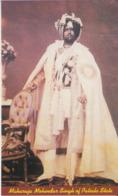 Patiala  Maharaja Mahindar Singh  Picture Card # 74696 Inde India Indien - Patiala