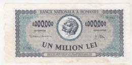 Romania 1000000 Lei 16 April 1947 - Rumänien