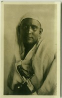SOMALIA - FOTO F. ZANINI - WARRIOR / GUERRIERO - RPPC POSTCARD 1910s (5477) - Somalië