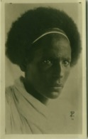 SOMALIA - FOTO F. ZANINI - WARRIOR / GUERRIERO - RPPC POSTCARD 1910s (5478) - Somalië