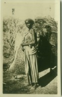 SOMALIA - FOTO F. ZANINI - MOTHER CARRYING KID - RPPC POSTCARD 1910s (5479) - Somalië