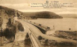 CPA - Belgique - La Gileppe - Le Barrage Et Le Lac - Gileppe (Barrage)