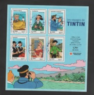 FRANCE / 2007 / Y&T N° 4051/4056 En Bloc Ou BF N° 109 (Tintin) - Oblitérations Du 28/07/2007. SUPERBE ! - Blocks & Kleinbögen