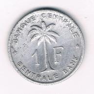 1 FRANC 1958  BELGISCH CONGO /8454/ - Congo (Belge) & Ruanda-Urundi