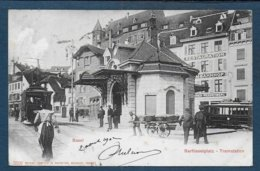 BASEL - Barfusserplatz - Tramstation - BS Basel-Stadt