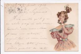 CP ILLUSTRATEUR Portrait De Femme - 1900-1949