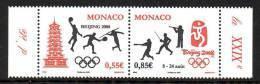 Monaco 2627/28 JO De Pékin , Basket-ball , Tennis , Javelot , Base-ball , Escrime , Tir Ball-trap - Ete 2008: Pékin