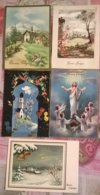 5 CARTOLINE AUGURALI (121) - Cartoline