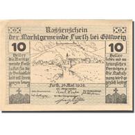 Billet, Autriche, Furth, 10 Heller, Village 1920-05-20, SPL, Mehl:FS 214aB - Austria