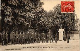 CPA Militaire, Saint-Mihiel - Entree Du Bataillon (278481) - Regiments