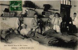 CPA Militaire, Artillerie - Le Reveil Et Cafe (278670) - Regiments