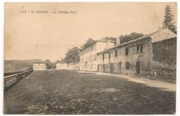 SAINT ZACHARIE LE CHATEAU VERT  B1187 - Saint-Zacharie