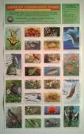 Bloc De Timbres / USA / 24  Vignettes Neuves / AMERICA'S CONSERVATION STAMPS 1991 National Wildlife Federation - Cinderellas